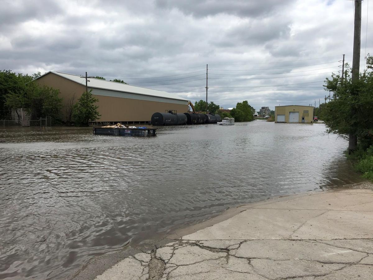 Heavy rains induce river, creek flooding around state