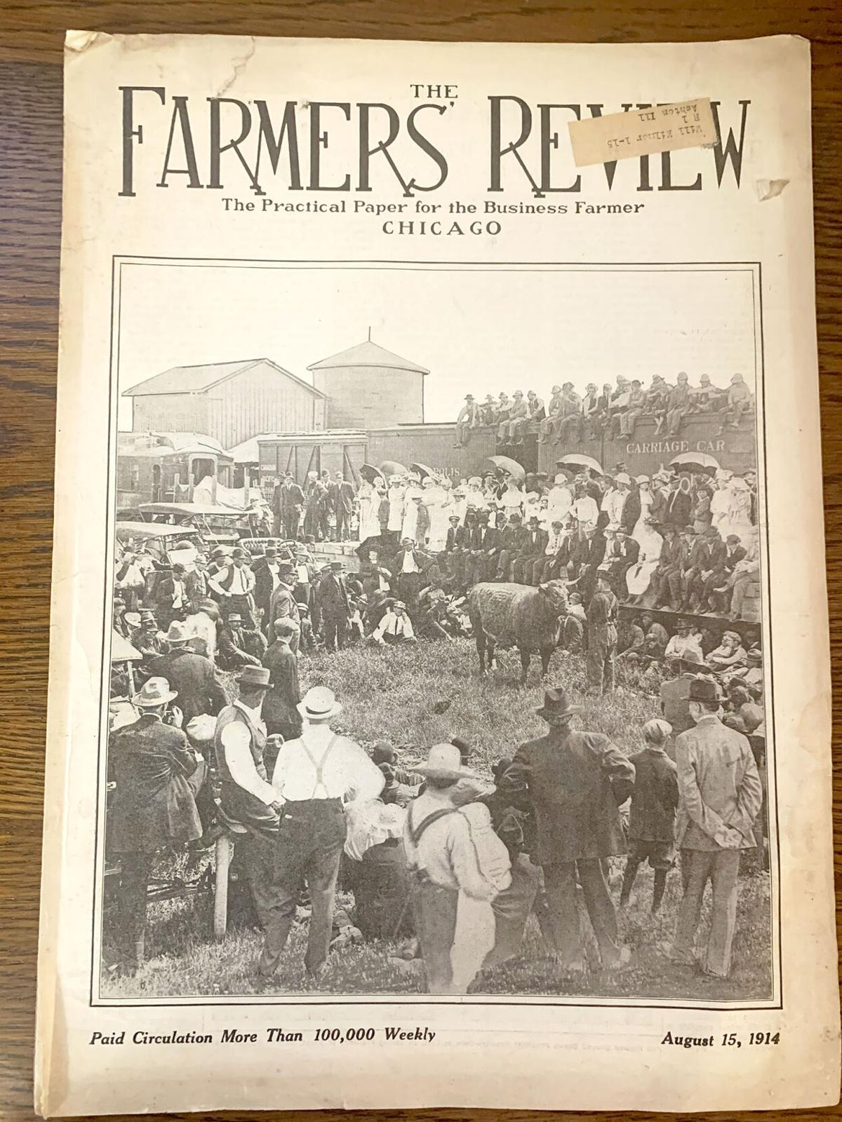 Tales from the past: Farmer uncovers historic ag publications