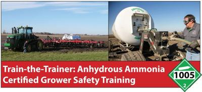 Anticipated anhydrous safety training starting online