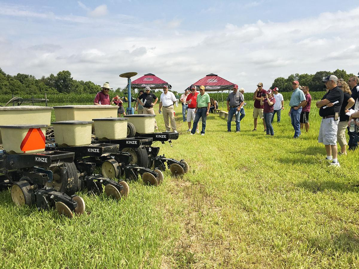 SIU researchers pair new equipment, cover crops to better manage weeds