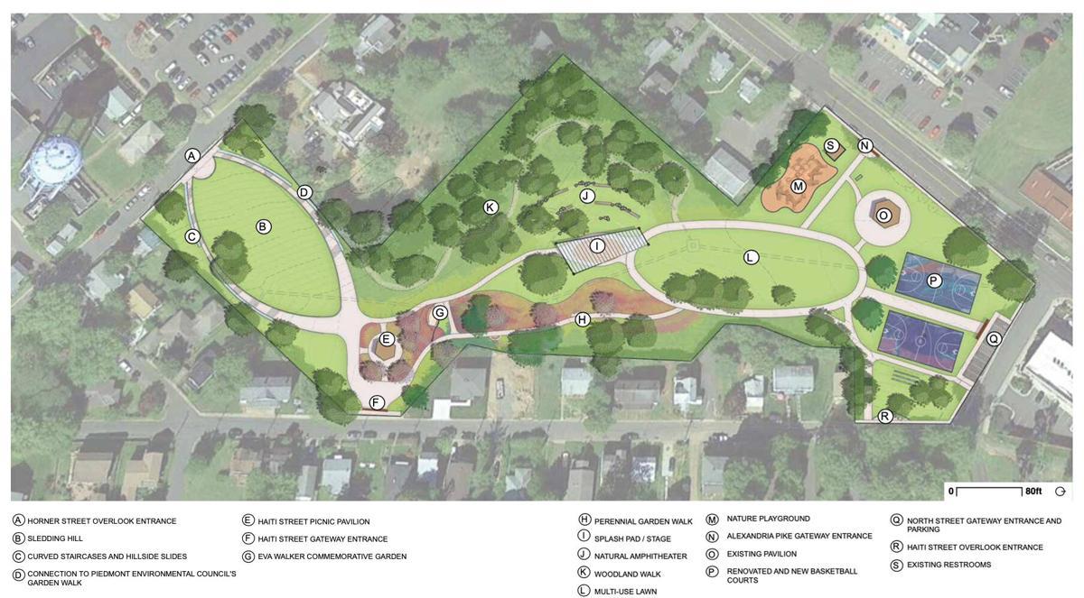 Eva Walker Park master plan