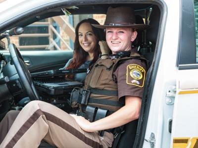 justine and deputy