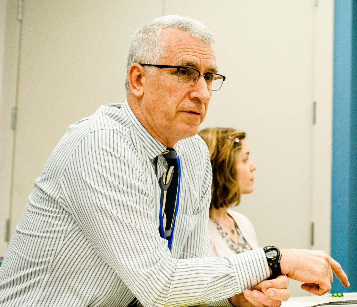 Dr. Wade Kartchner is the health director of the Rappahannock-Rapidan Health District of the Virginia Department of Health.