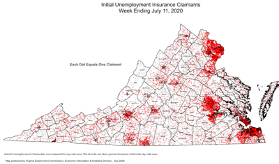 photo_ft_news_unemployment map Virginia initial claims July 11