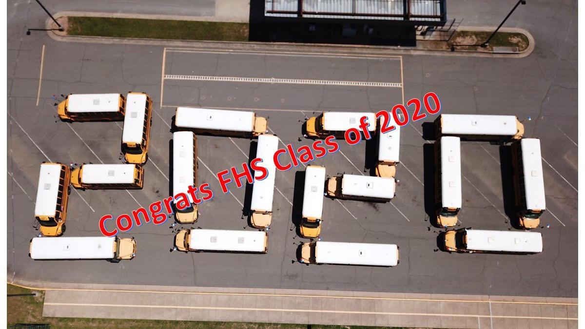 FHS buses 2020 seniors