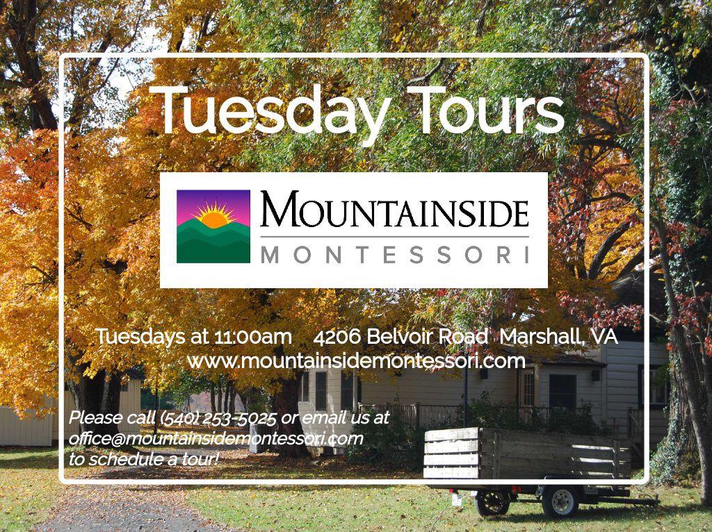 Mountainside Montessori Tuesday Tours