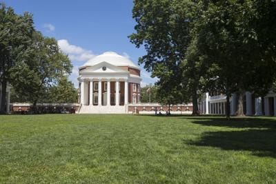 UVA rotunda and lawn