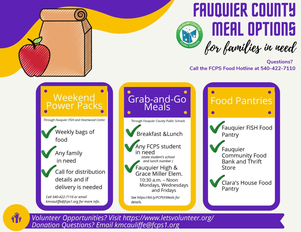 FCPS food giveaways