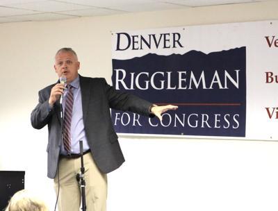 Denver Riggleman in Warrenton