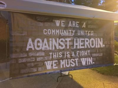 Heroin fight