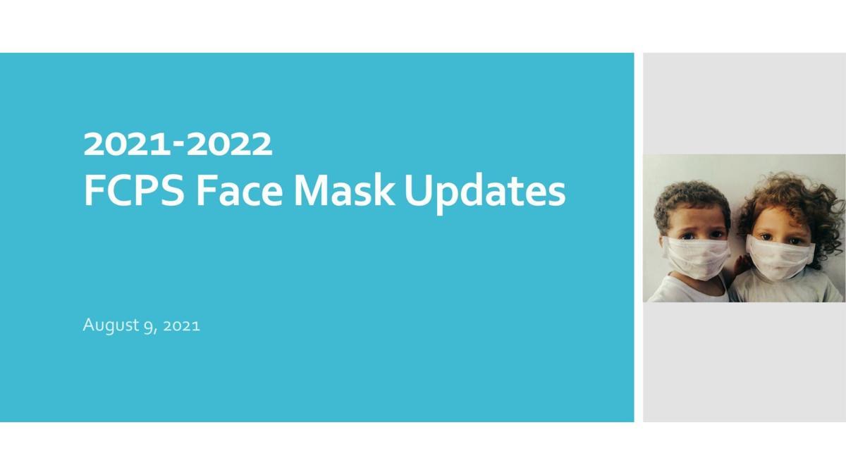 FCPS Mask Update
