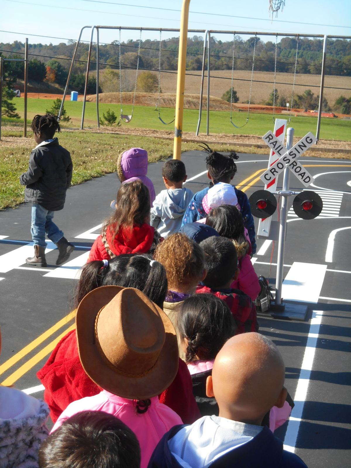 Railroad crossing Safety Town