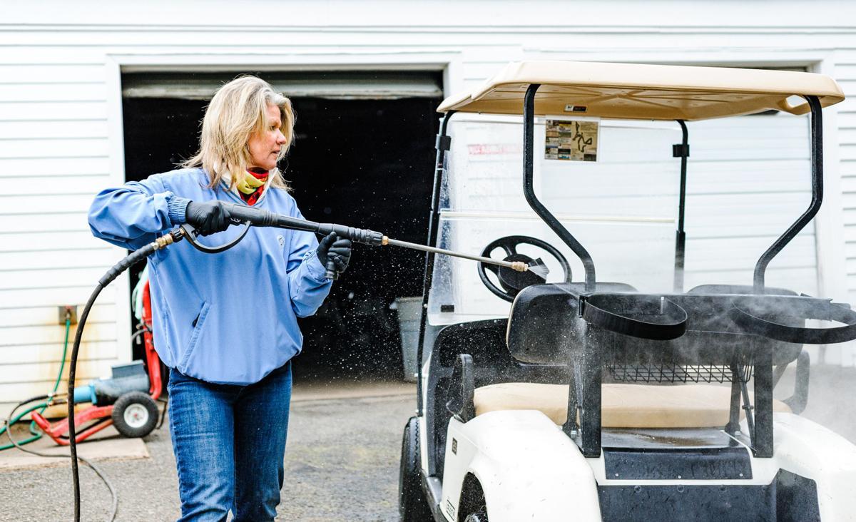 south wales golf course Renee davis