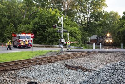 train crash in Delaplane