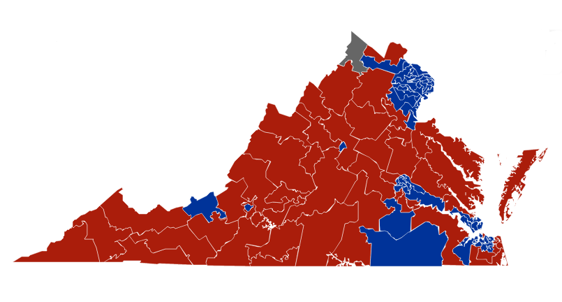 House of Delegates map 2019