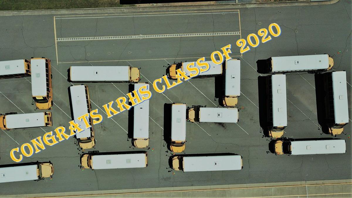 KRHS buses 2020 seniors