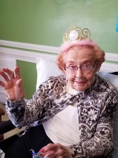 Mary Elton Hall Coleman, 102 years old