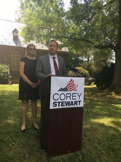 Corey Stewart announces his campaign for U.S. Senate July 13