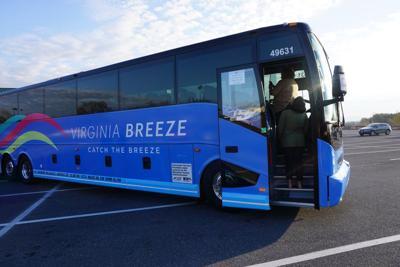 Virginia Breeze bus