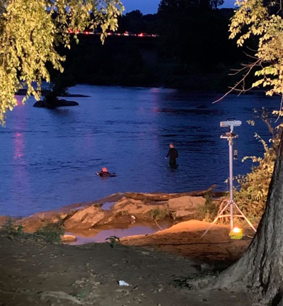 First responders search for Manassas teen Rappahannock River