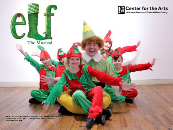 Buddy the Elf and his elf friends