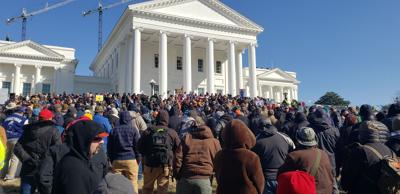 gun rally in Richmond 1