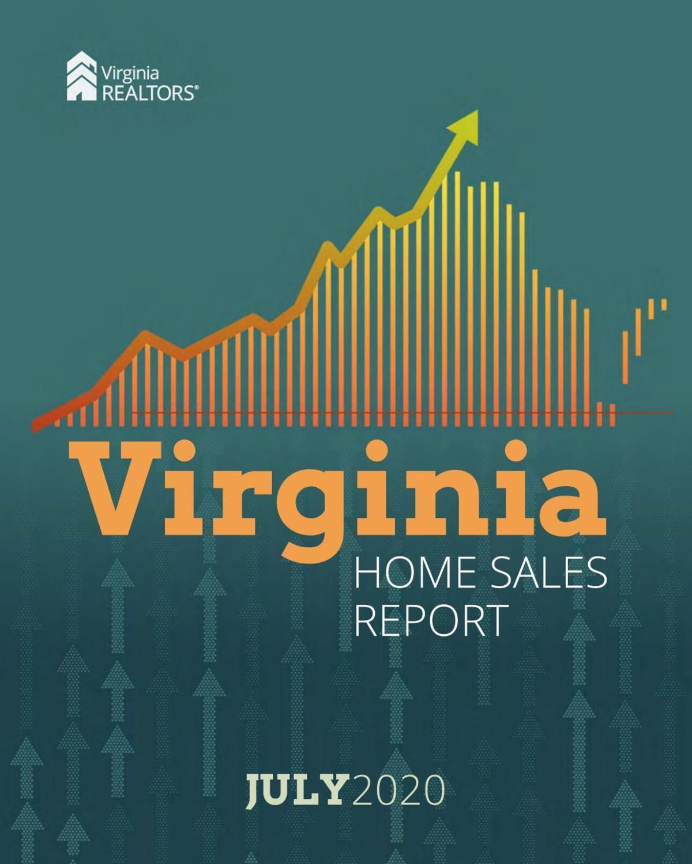 2020_07 Virginia Realtors Home Sales Report