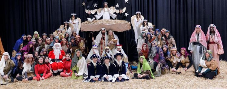 2018 Foxcroft Christmas Pageant participants