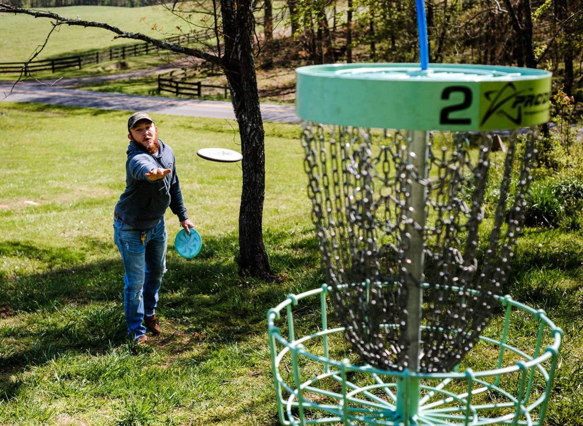 This Disc Just In Fauquier Working To Upgrade Its Frisbee Golf Course In Remington News Fauquier Com