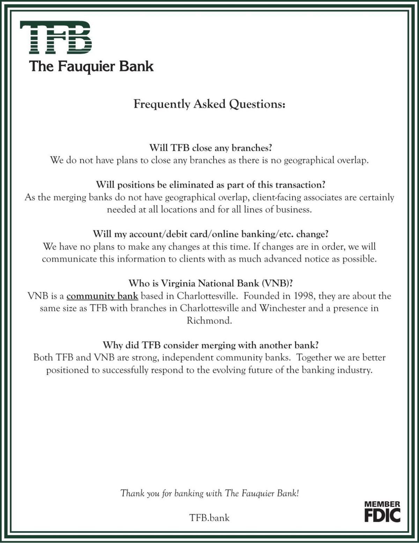 2020_10_01 The Fauquier Bank merger FAQ.pdf