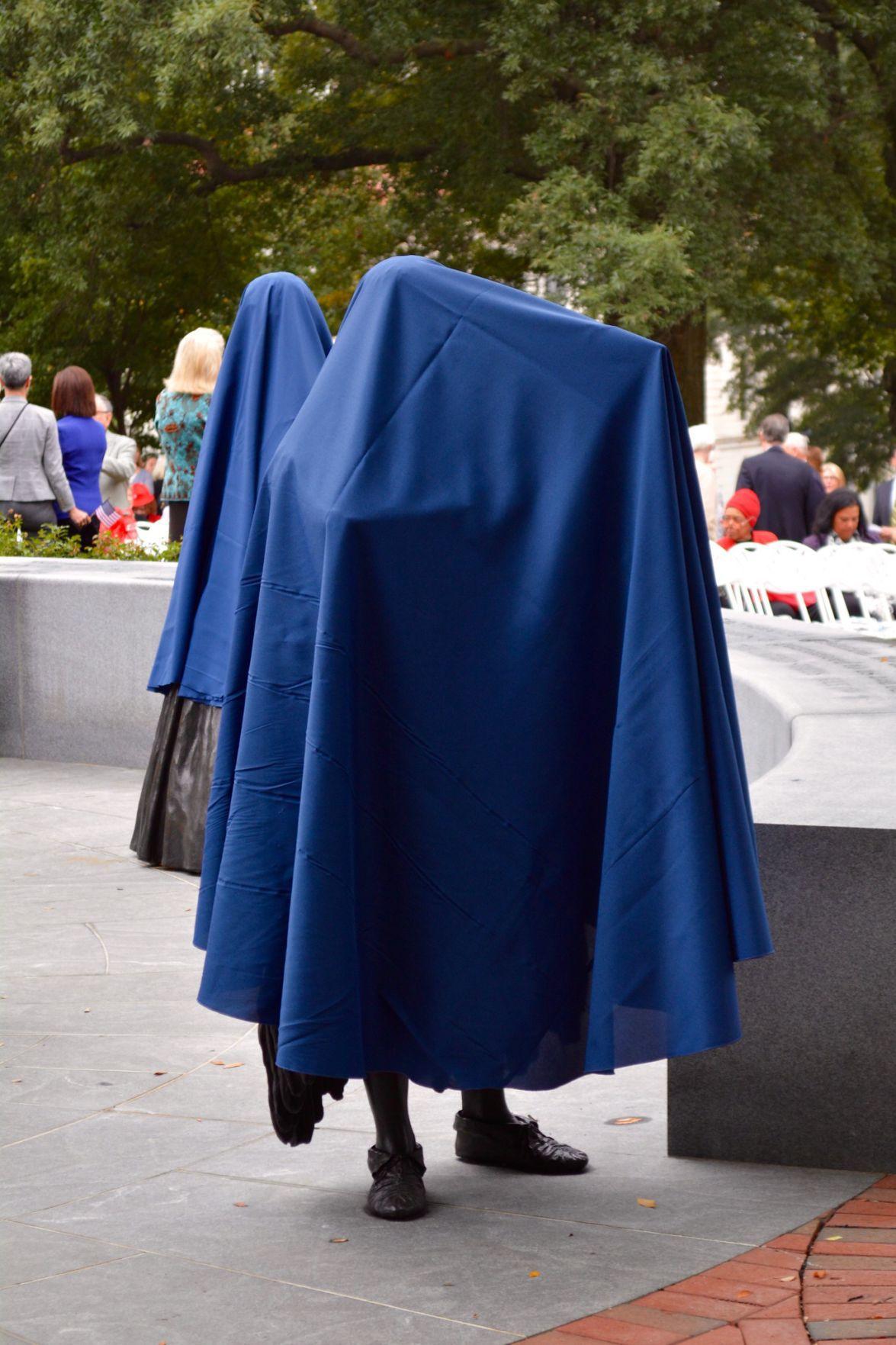 Women's monument -- veiled