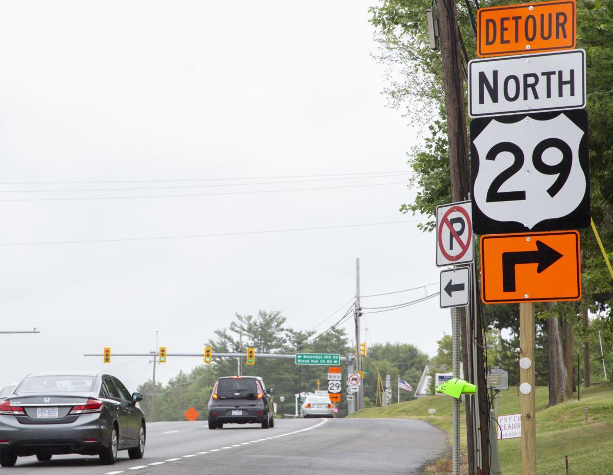 rt 29 detour 1