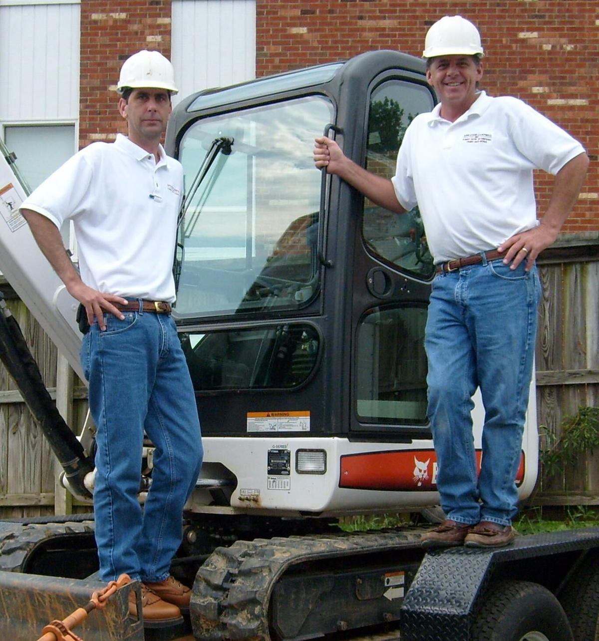 Appleton Campbell scott and mike hardhats