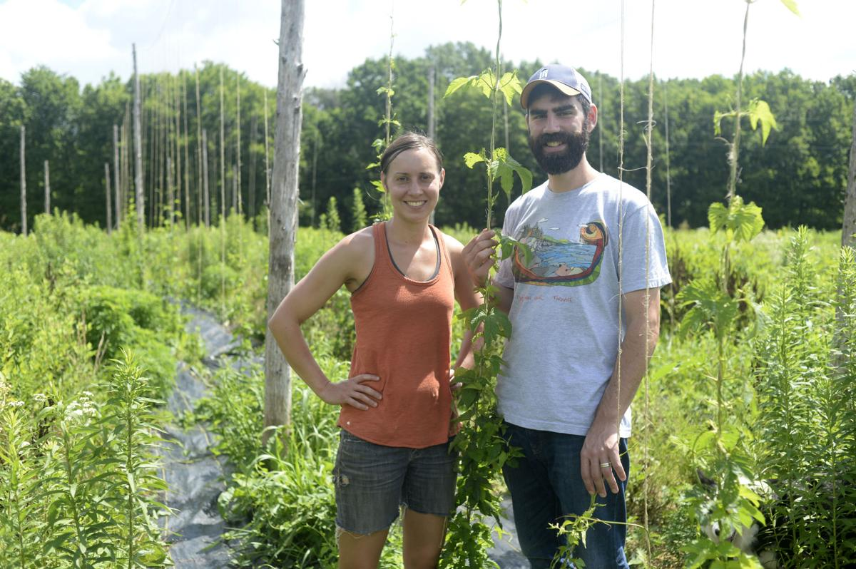 Beer Flows At New Powers Farm And Brewery News Fauquier Com