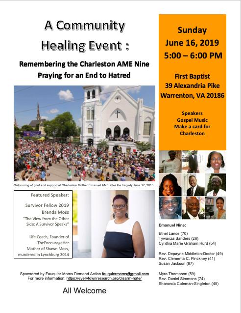 Charleston Remembrance June 16