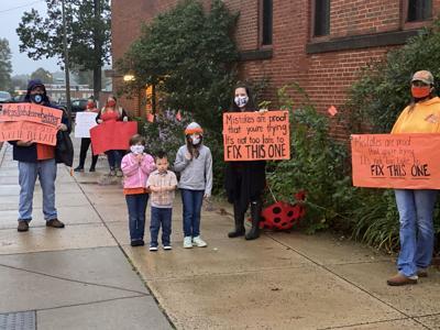 school board meeting reopen schools 101220