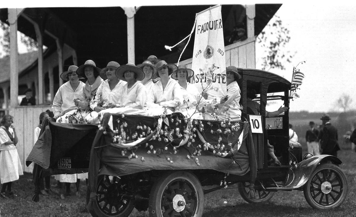 Fauquier Female institute float history