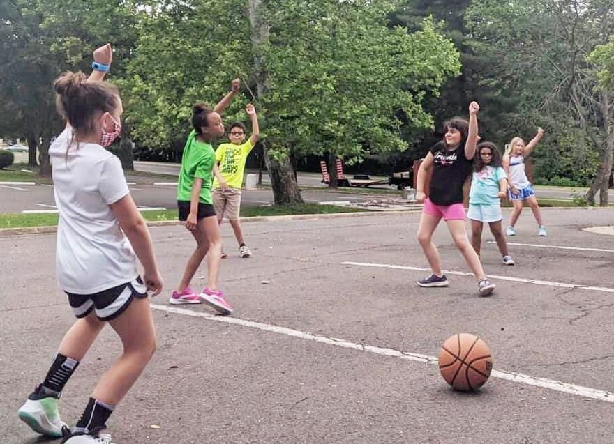 Campers at the Boys & Girls Club of Fauquier