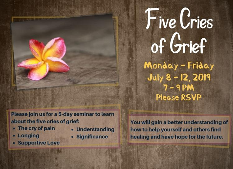 Five Cries of Grief