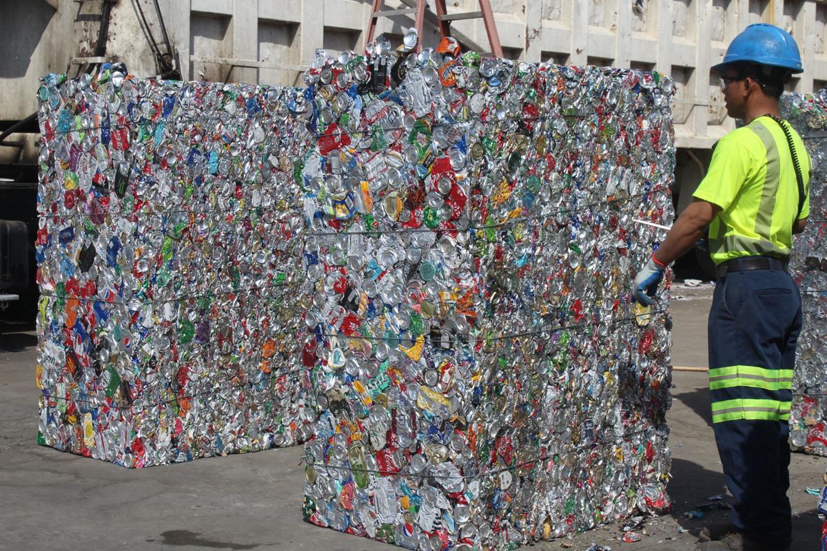 earth day-RecyclingAluminumBlocks.JPG