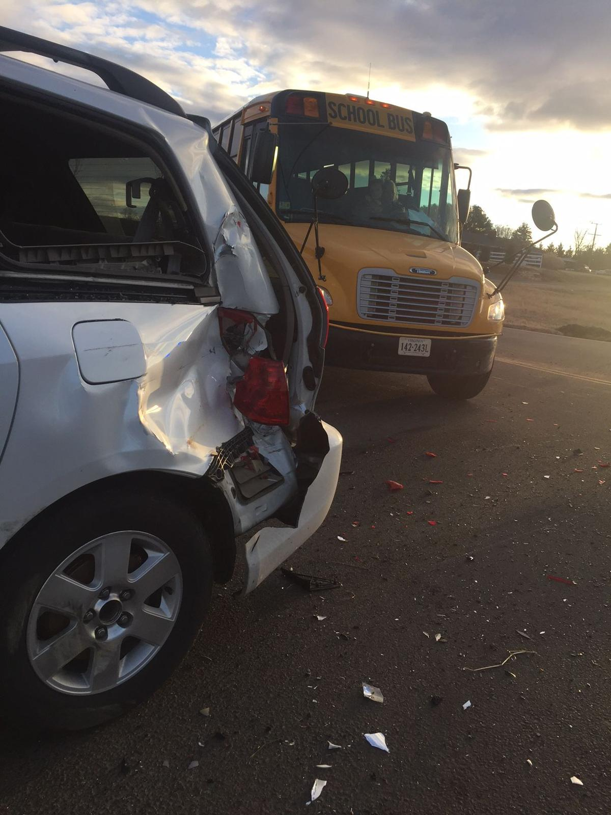 UPDATED: Truck driver charged in U S  17 school bus crash