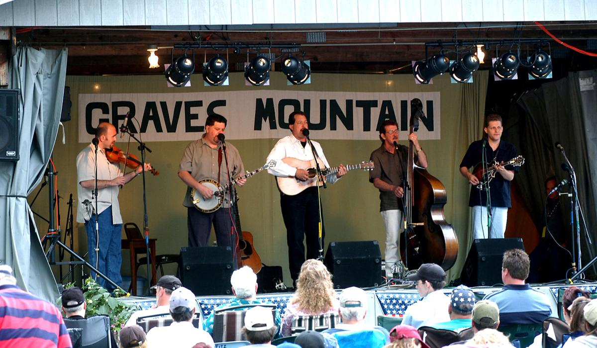 Graves Mountain Festival of Music Stage