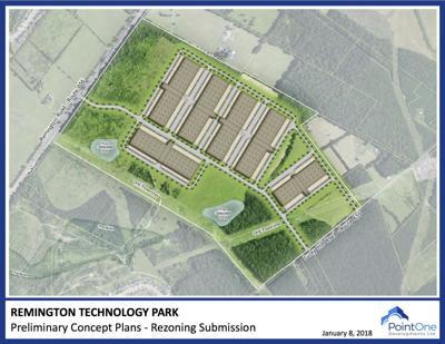 Remington data center layout
