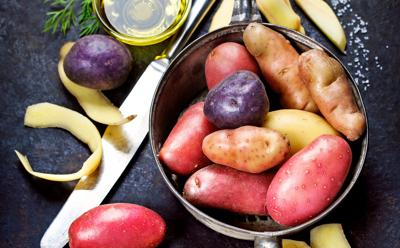 Red, white and blue: Get up to speed on spuds
