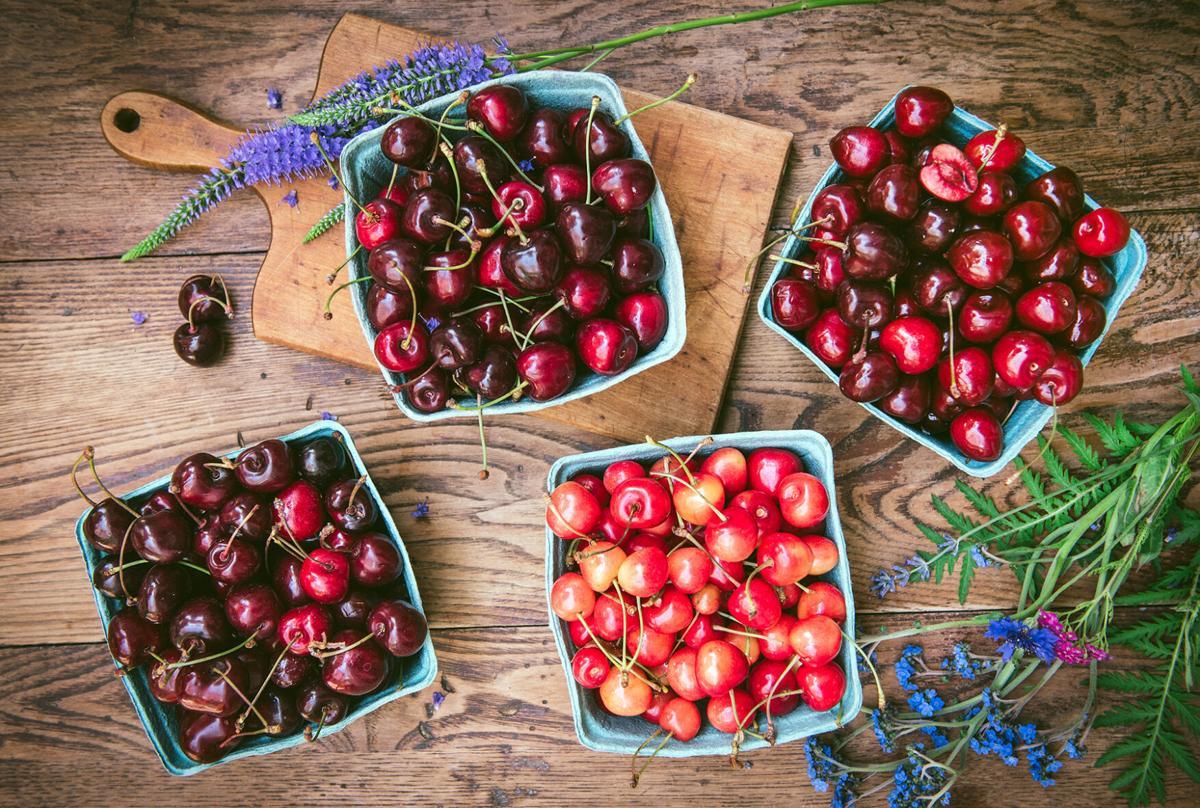 Various cherries