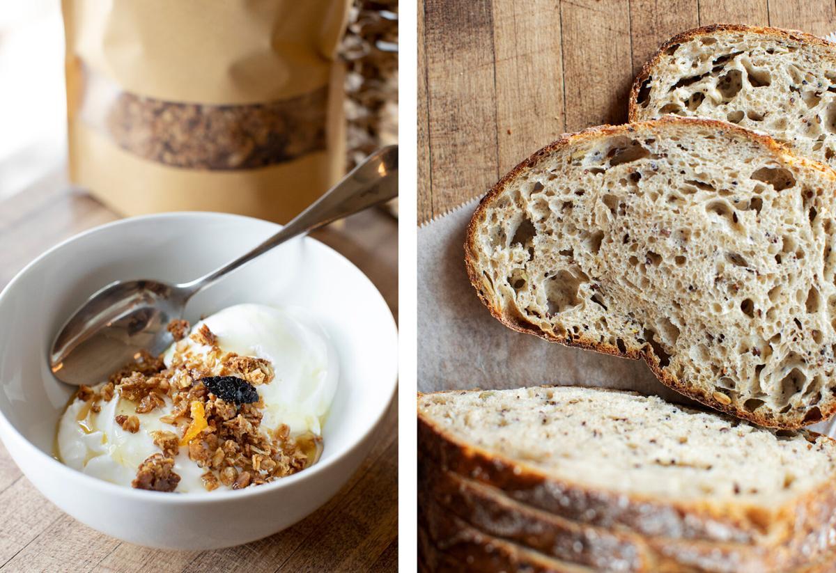 Madeleine Bakery oat items