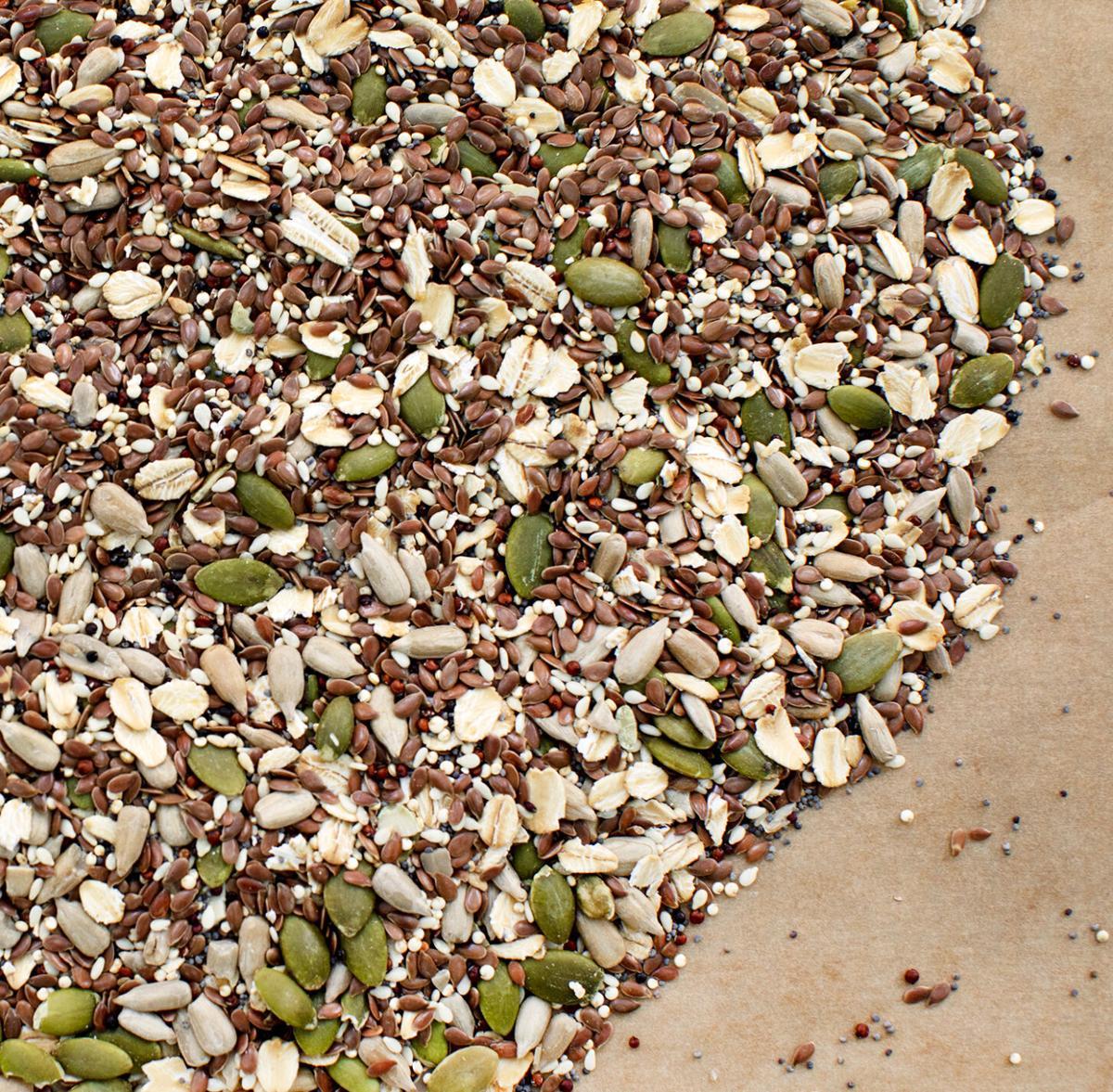 Sourdough grain mixture