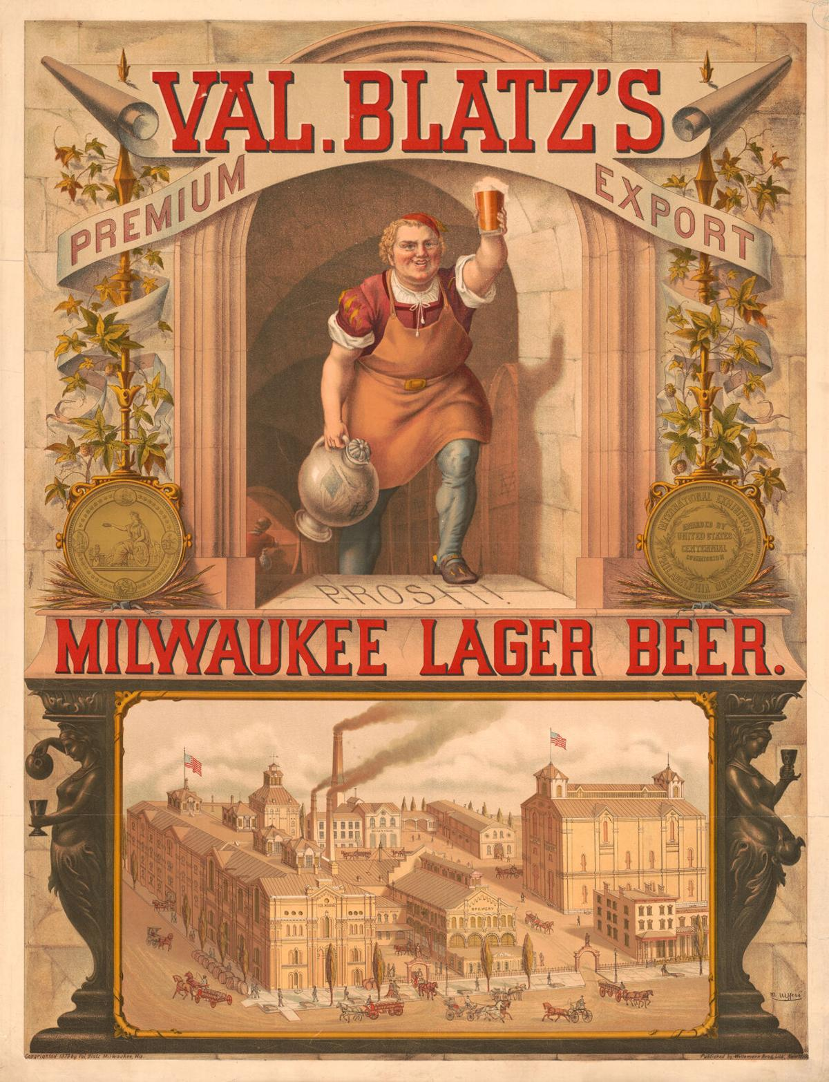 Milwaukee Lager Beer ad