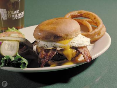 Big Chief Burger at Flat Branch Pub & Brewing