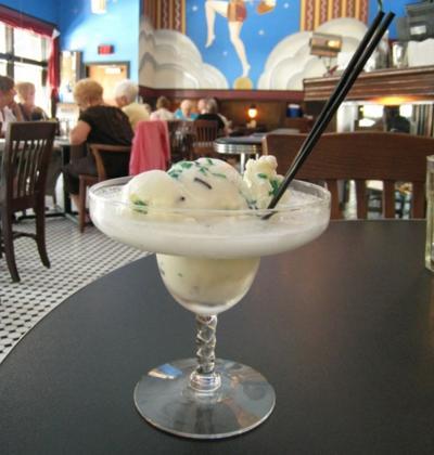 Fountain on Locust's alcohol-infused ice cream